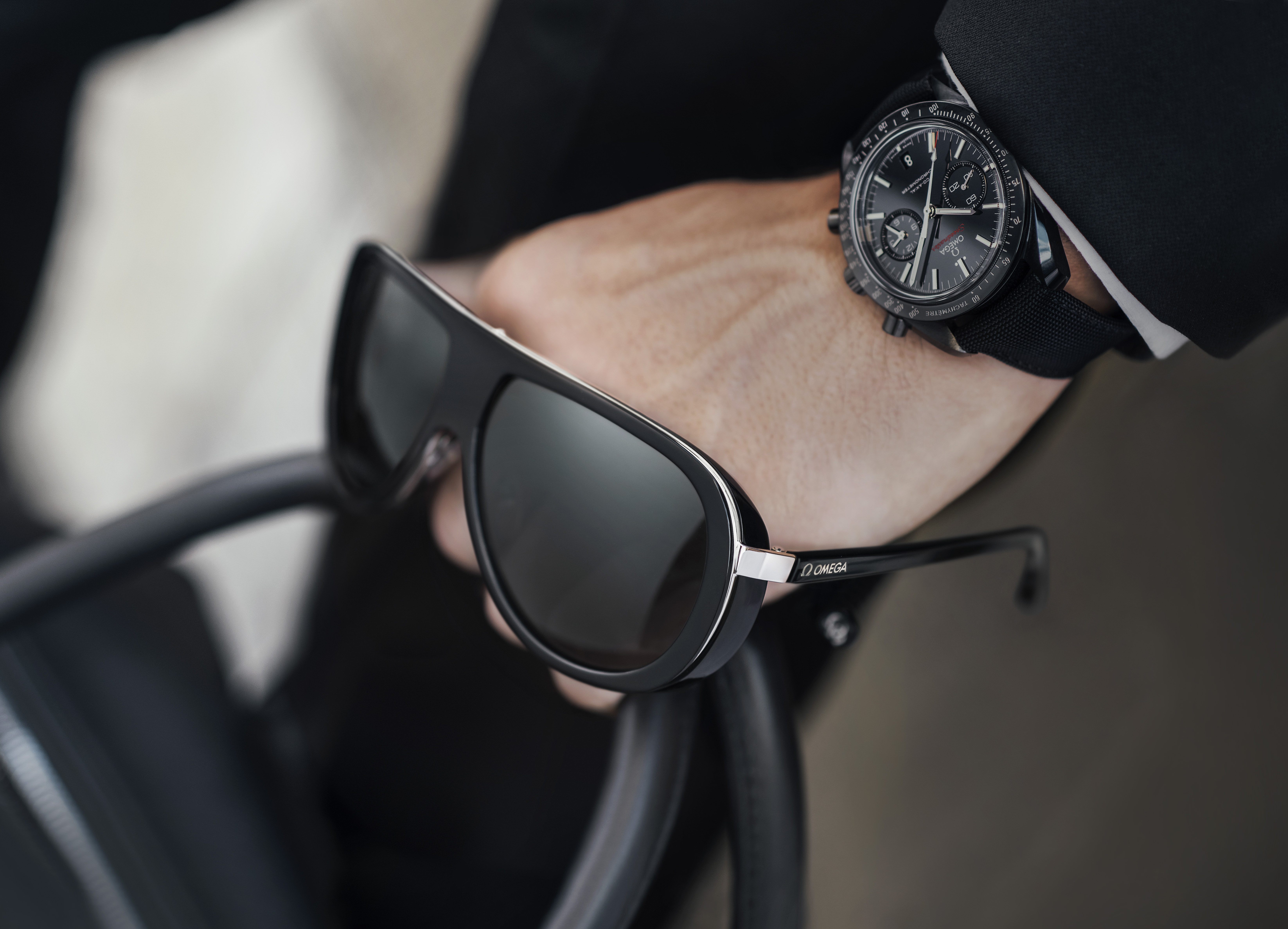 BREAKING NEWS: Omega launches eyewear collection, and we ... Tom Ford Eyewear Logo