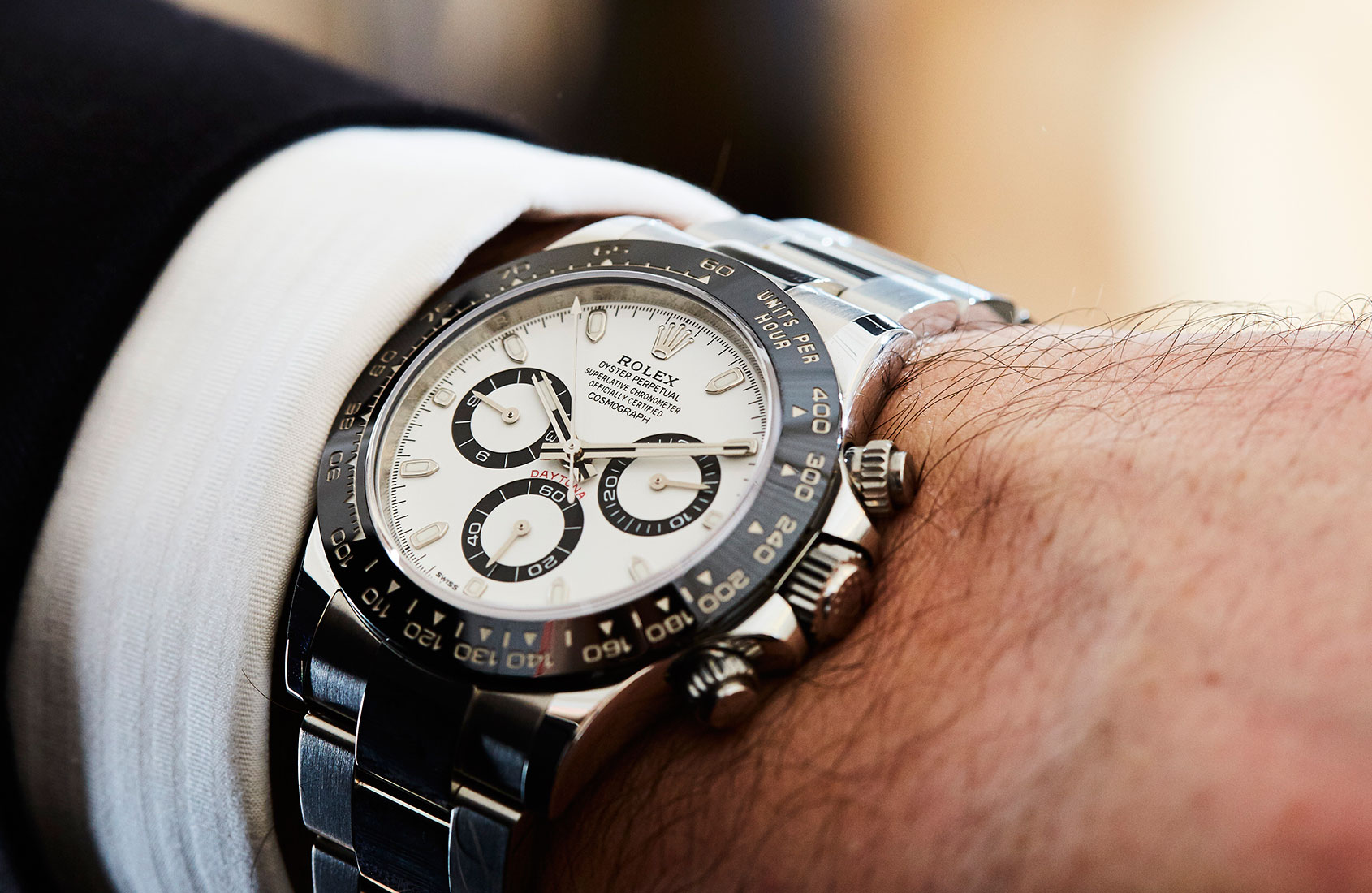 Hands On Blue Heaven The Rolex Daytona In White Gold