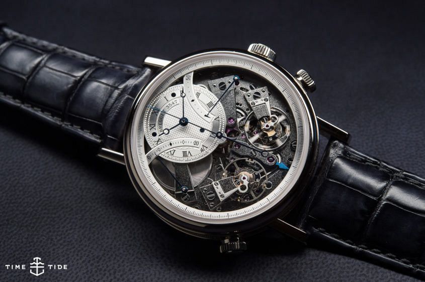 The Breguet Tradition 7077. Image: Kristian Dowling/Time+Tide Images