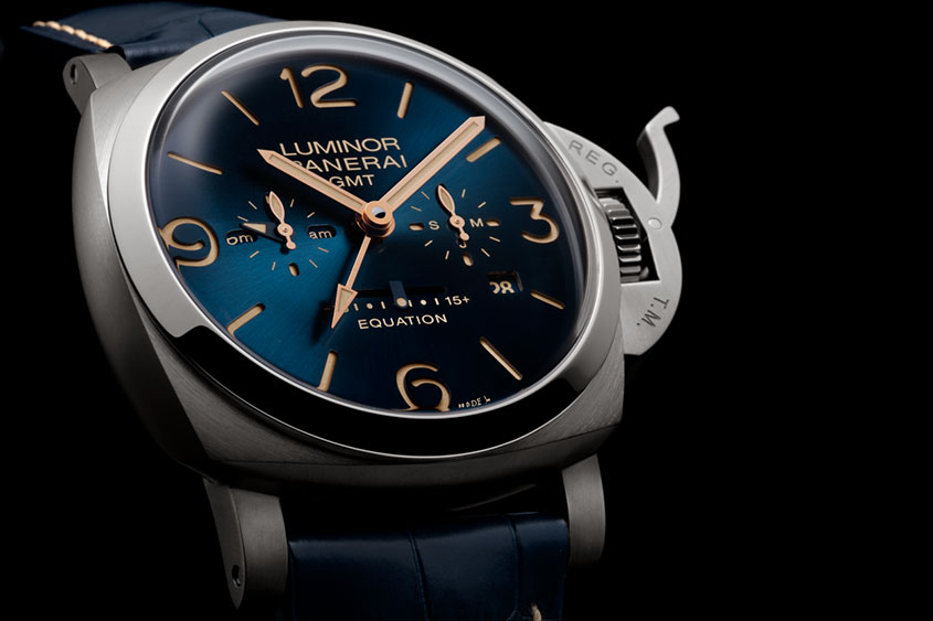 Panerai S Luminor 1950 8 Days Equation Of Time Titanio A