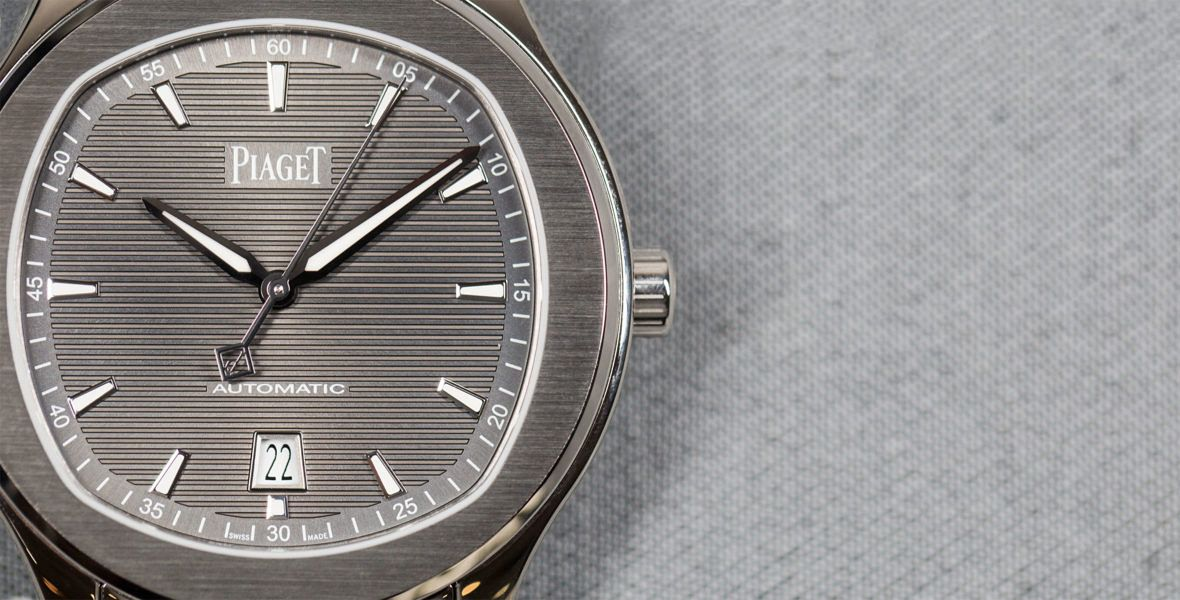 GONE IN 60 SECONDS: New kid on the (luxury steel sports) block - the Piaget Polo S