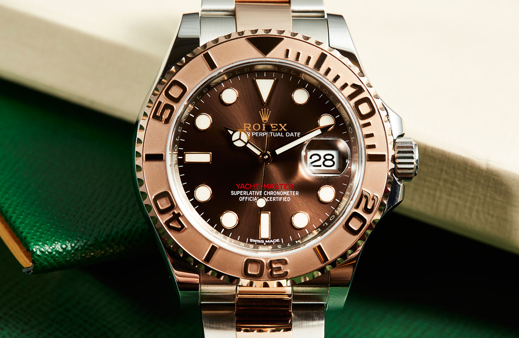 2ebccf57d92d HANDS-ON  The ultimate his and hers watch – the Rolex Yacht-Master 40  Everose Rolesor
