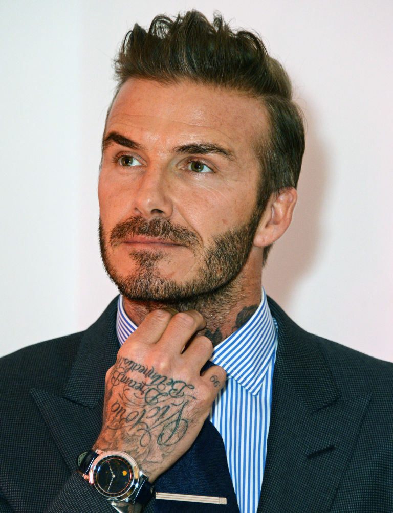 WATCHSPOTTING: Father's Day special - famous dads and sons ... David Beckham