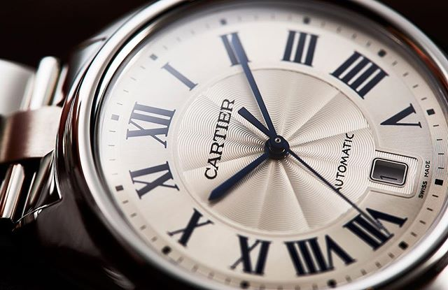 Friday morning, dial it up! The bewitching @cartier Clé de Cartier is a genuine value proposition on bracelet at $5500. ️