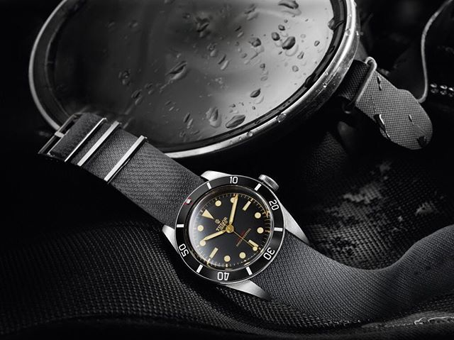 Remembering the @tudorwatch Black Bay One unique piece from the Only Watch auction 2015 that sold for 100X more than retail and led to the Black Bay Black. ️