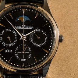 HANDS-ON: The Jaeger-LeCoultre Master Ultra Thin Perpetual Calendar, now in black