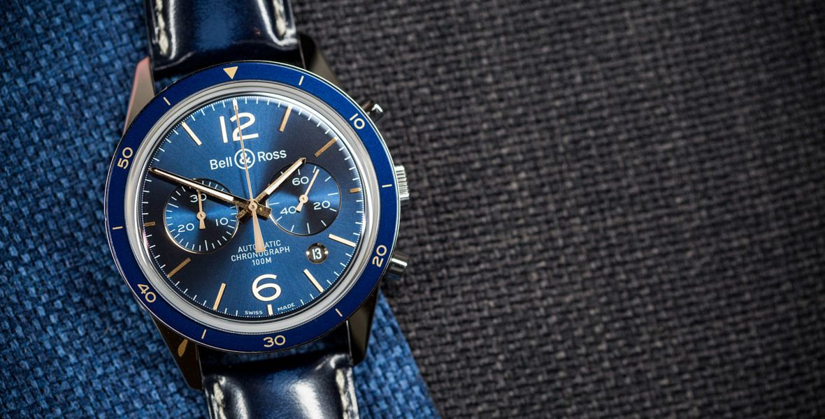 GONE IN 60 SECONDS: Dress blues – the Bell & Ross BR 126 Aeronavale video review