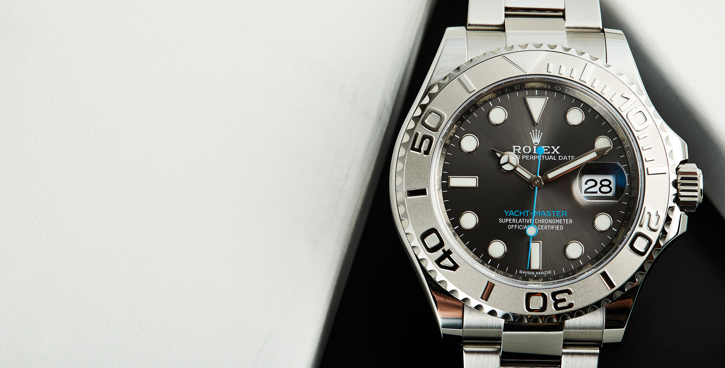 HANDS-ON: Shades of grey – the Rolex Yacht-Master 40 with ...