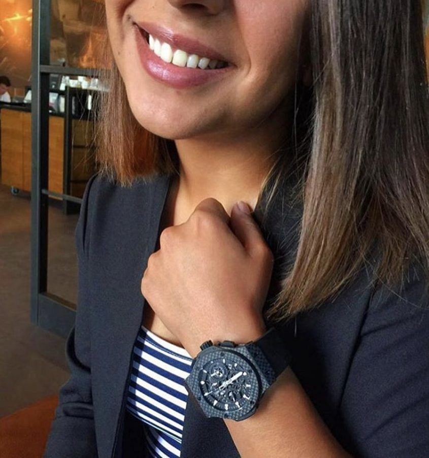 Image: Instagram @girlswearingcoolwatches
