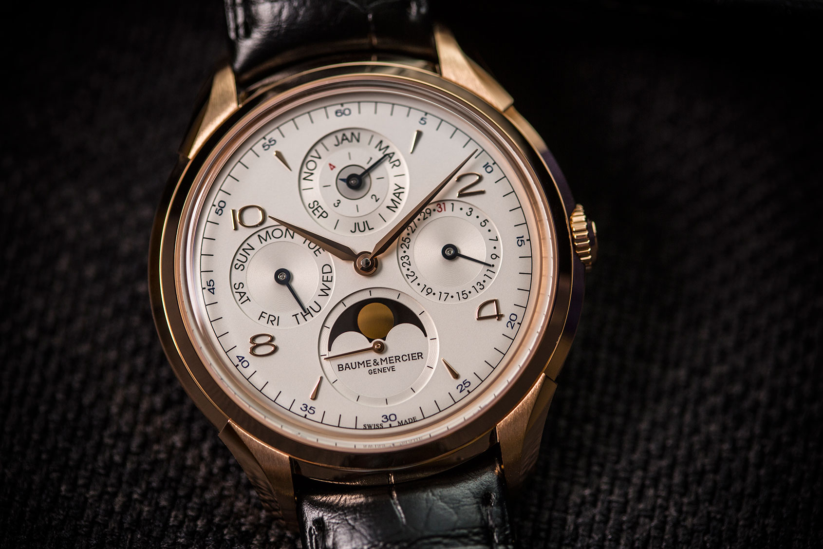 HANDS-ON: The Baume & Mercier Clifton Perpetual Calendar ...