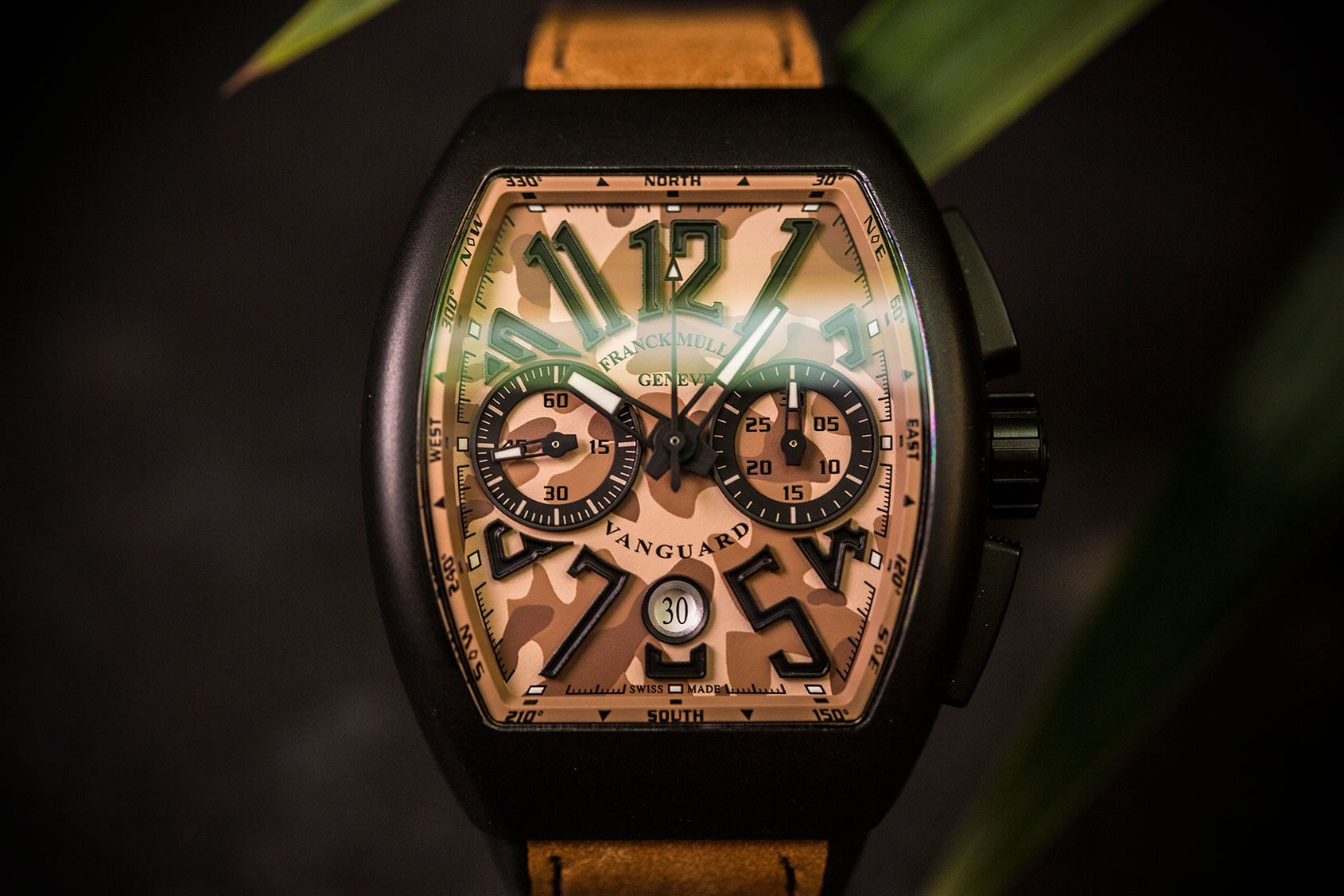 Franck Muller Vanguard Chronograph Camouflage copy watch