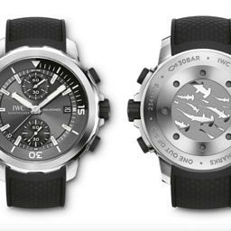 INTRODUCING: IWC proves they aren't afraid of the deep with the Aquatimer Chronograph Edition 'Sharks'