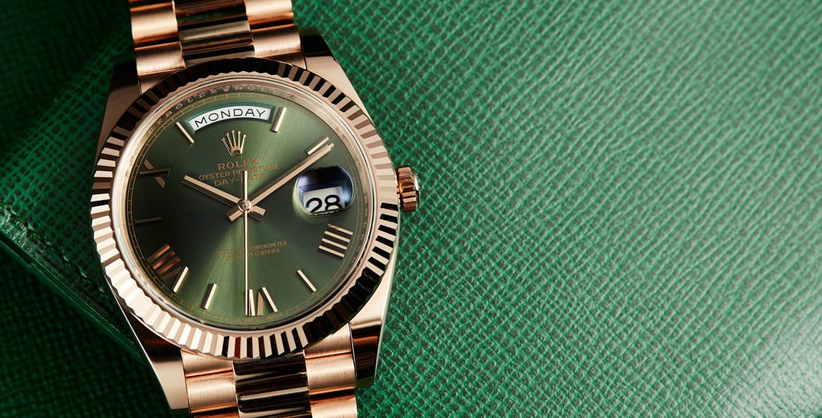 HANDS-ON: The Rolex Day-Date 40 with green dial - 6 decades on and still going strong