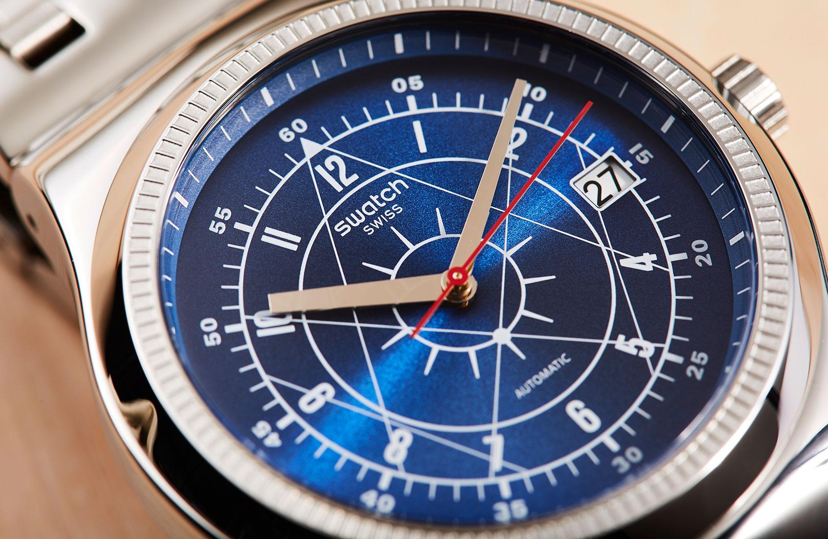 emaille wijzerplaat groot uurwerk