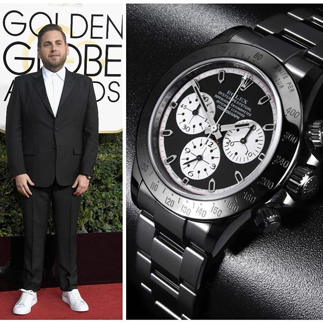 We're officially back at work, and straight into the thick of watchspotting season thanks to the Golden Globes. Who could have guessed 2017 would be the year Jonah Hill becomes a style icon? Full story on the site now. ️️