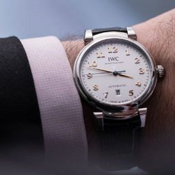 GONE IN 60 SECONDS: The Da Vinci Automatic shows the gentler side of IWC