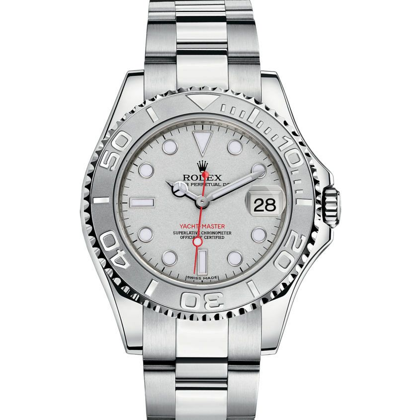 Rolex Yacht-Master Watch: Rolesium - combination of 904L steel a