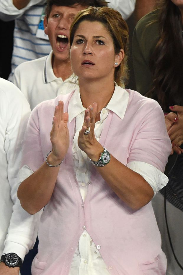 Mirka Federer S Rolex Day Date Is A Real Champion Watchspotting