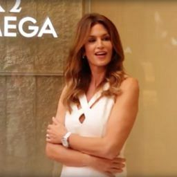 VIDEO: Want Omega's CEO to give you a private tour of their biggest boutique, featuring Cindy Crawford? Of course you do