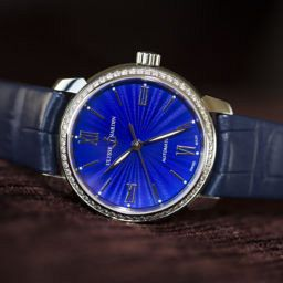 HANDS-ON: Singing the blues with the ladies' Ulysse Nardin Classico
