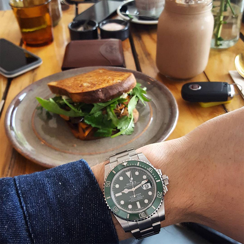 How to take the perfect Instagram wristshot