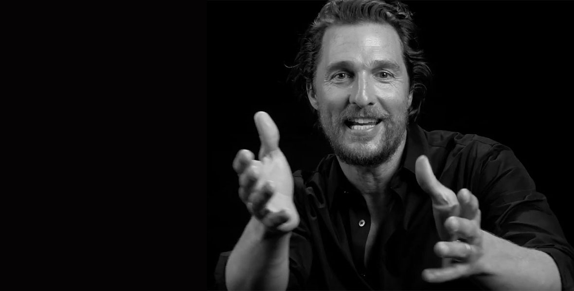 Matthew McConaughey and the tale of his dad's fake Rolex