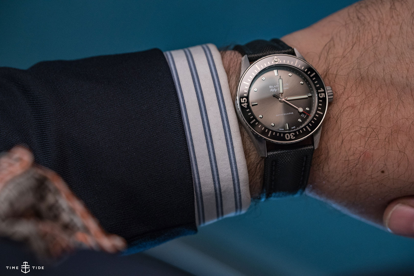 Blancpain Fifty Fathoms Bathyscaphe 38mm – Hands-on Review