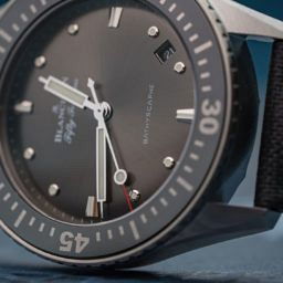 HANDS-ON: Return of the reasonably sized diver – the Blancpain Fifty Fathoms Bathyscaphe 38mm