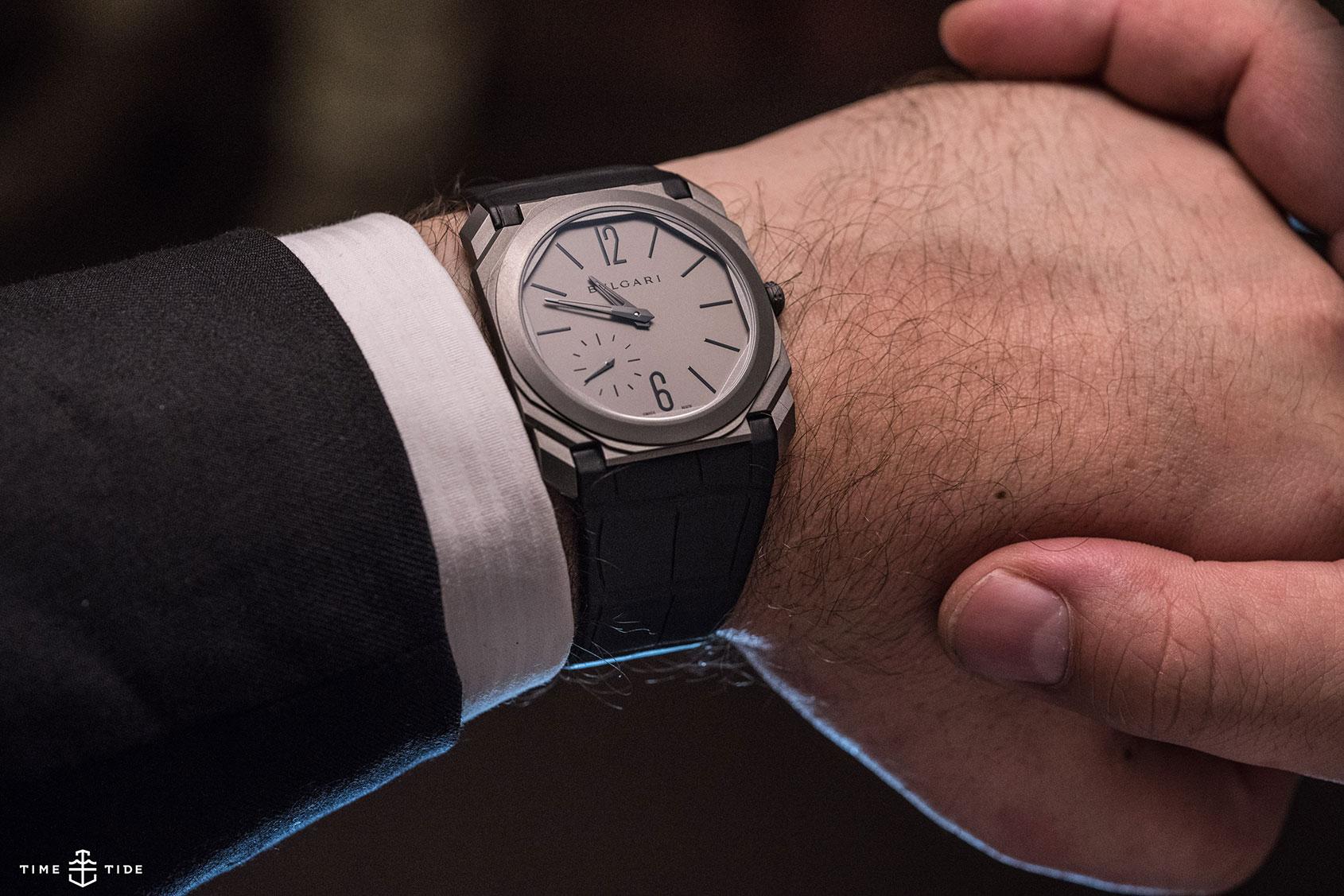 e8be774f006 Bulgari Otto Finissimo Automatic s Barely-there Brilliance – Hands ...
