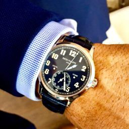 MY WATCH STORY: Sebastian's Patek Philippe Calatrava Pilot Travel Time (ref. 5524G)