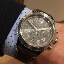MY WATCH STORY: Running into last year's crush in Hall 1, Jared's Breguet Type XXI 3817