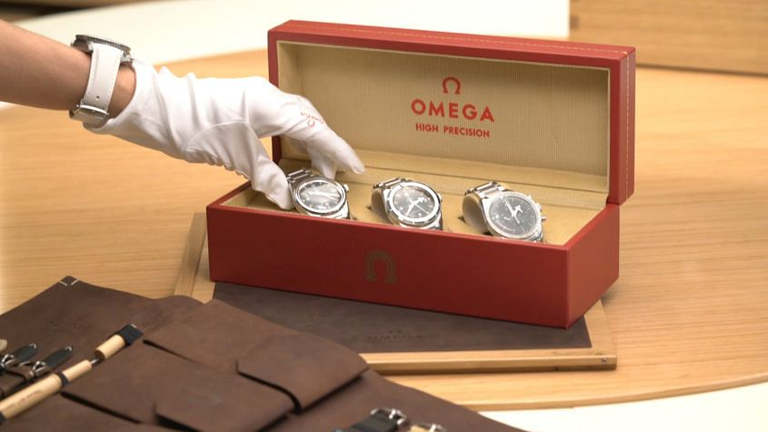 Omega box set, Railmaster, Seamaster, Speedmaster