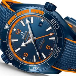 "VIDEO: The Planet Ocean 'Big Blue' is ""one of the most interesting"" in Omega's new collection, says CEO"