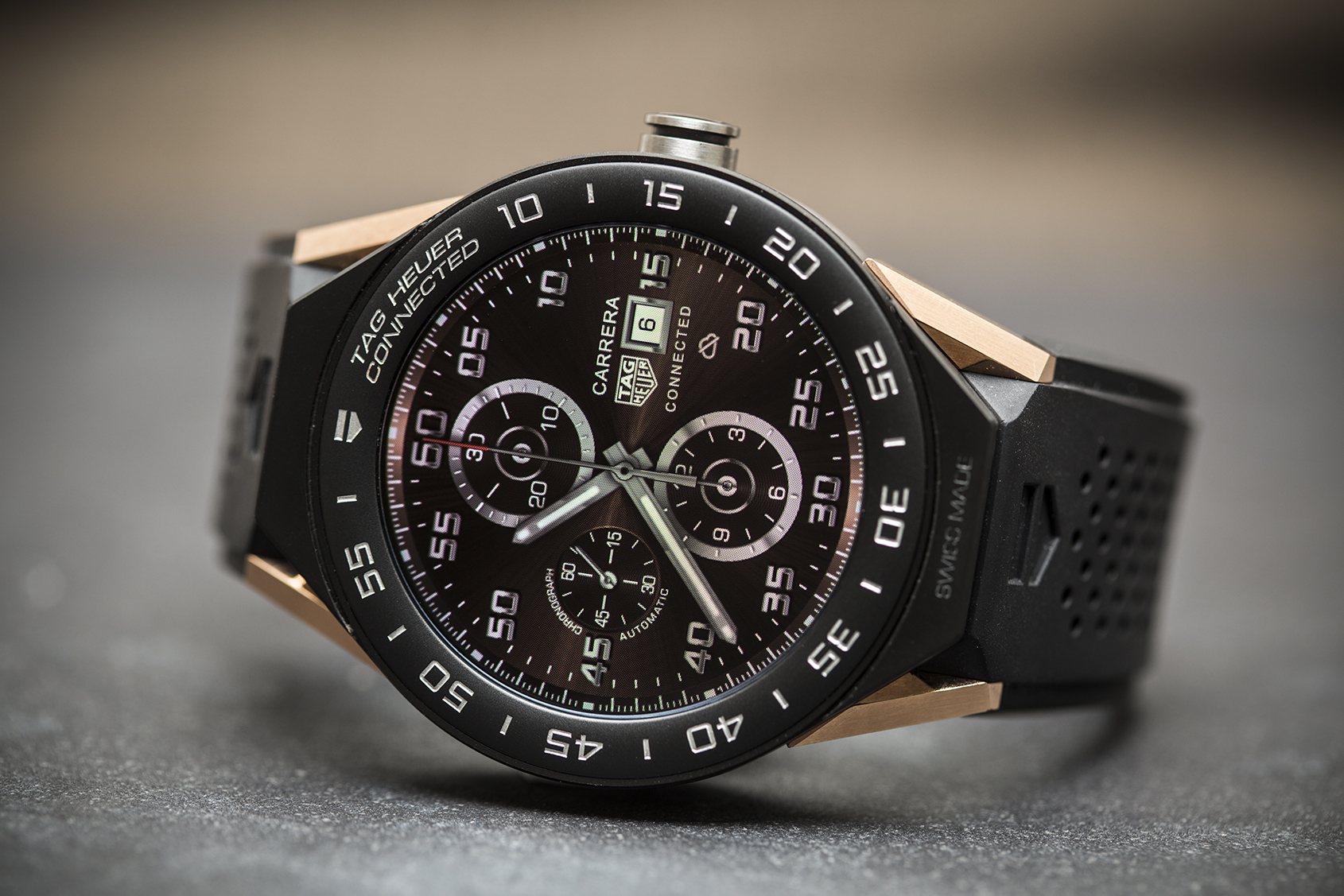 Hands On The Tag Heuer Connected Modular 45 Time And