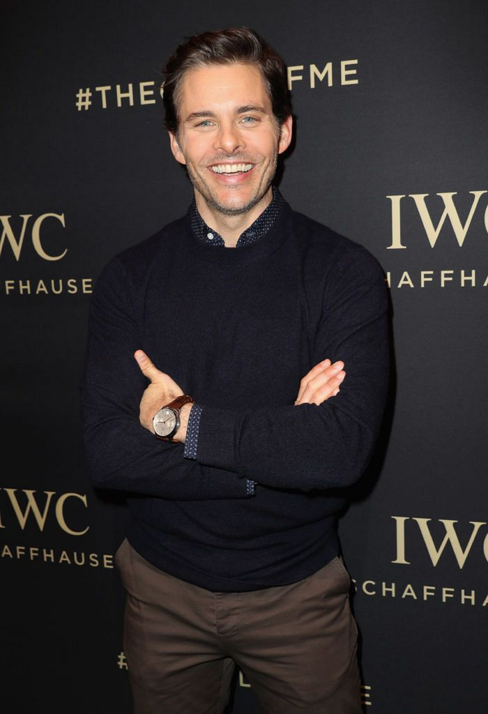 James Marsden watches IWC
