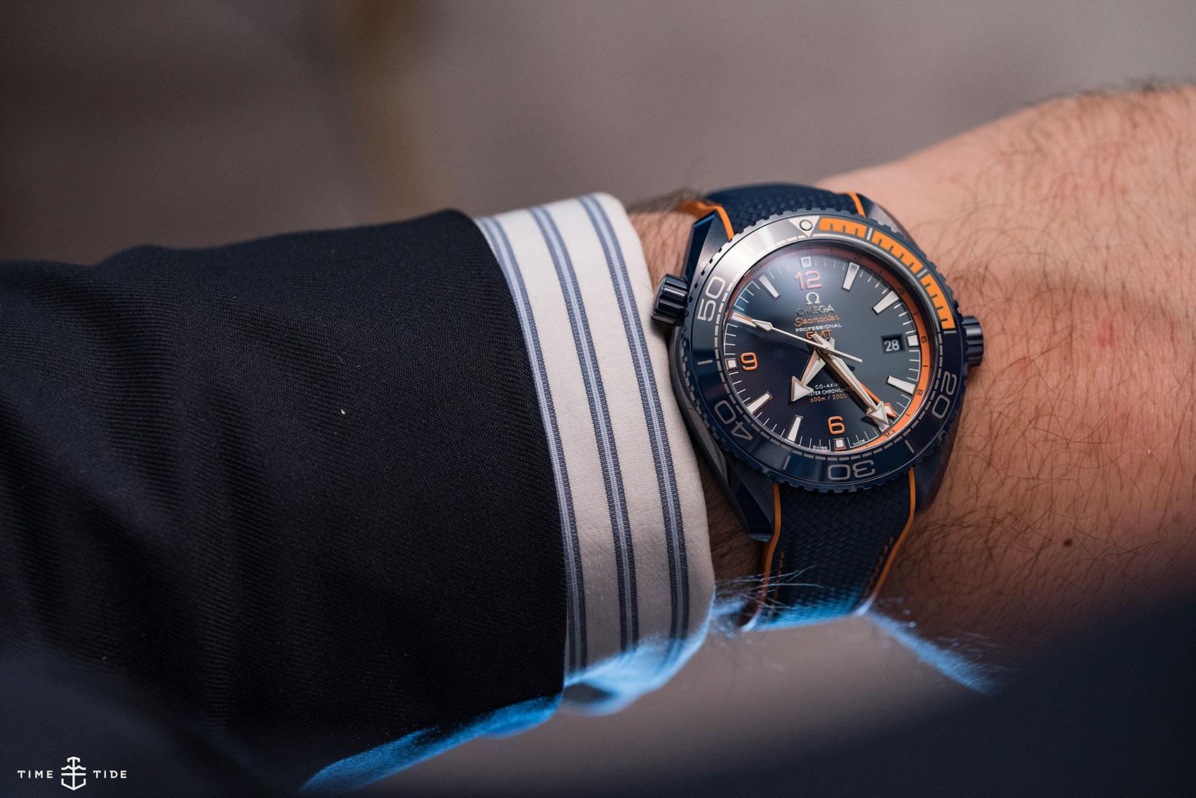 Hands On The Omega Seamaster Planet Ocean Big Blue