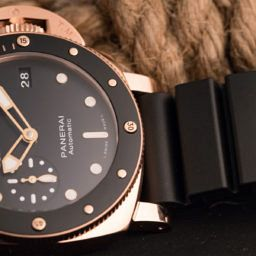 HANDS-ON: Panerai's Midas touch – the Luminor Submersible 1950 3 Days Automatic Oro Rosso (PAM 684)