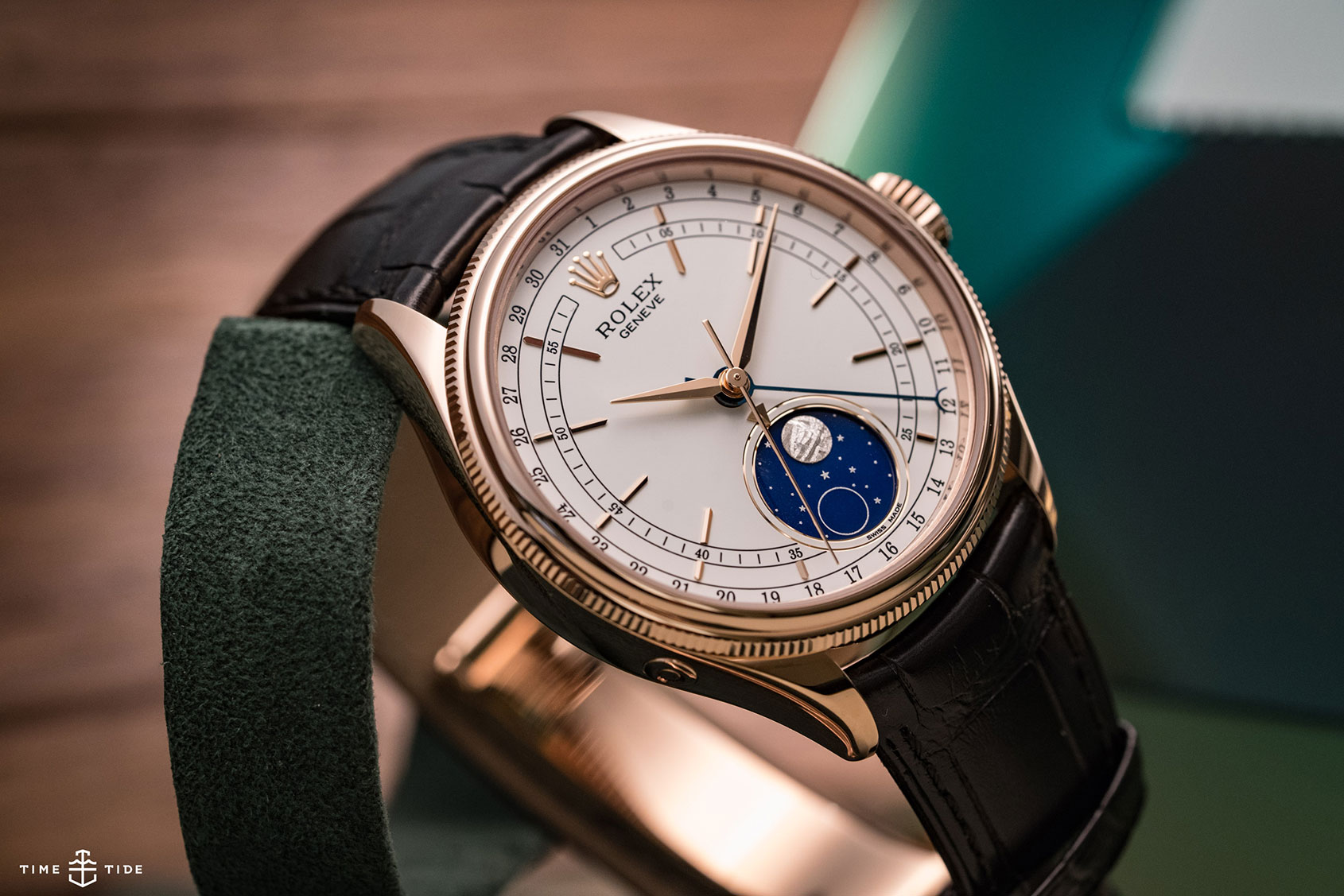 Rolex Cellini Moonphase \u2013 Hands,on Review