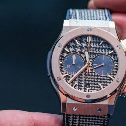 HANDS-ON: Hublot takes matching your watch to your suit to the next level with the Classic Fusion Italia Independent