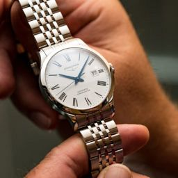 HANDS-ON: One simple word that makes the Longines Record a big deal