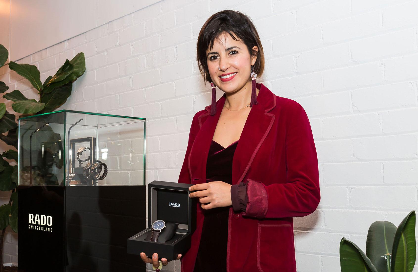Yasmine Ghoniem Winner Of The Rado Emerging Design Star Award
