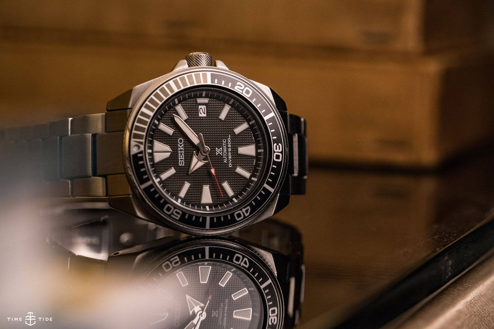 EDITOR'S PICK: Sharp steel – the Seiko Samurai | Time and Tide Watches