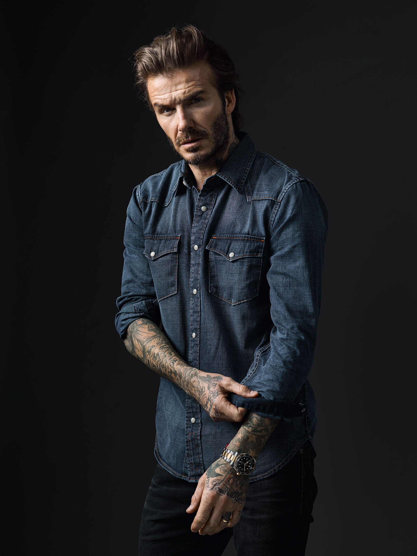 Tudor Announces David Beckham As New Brand Ambassador For 2017