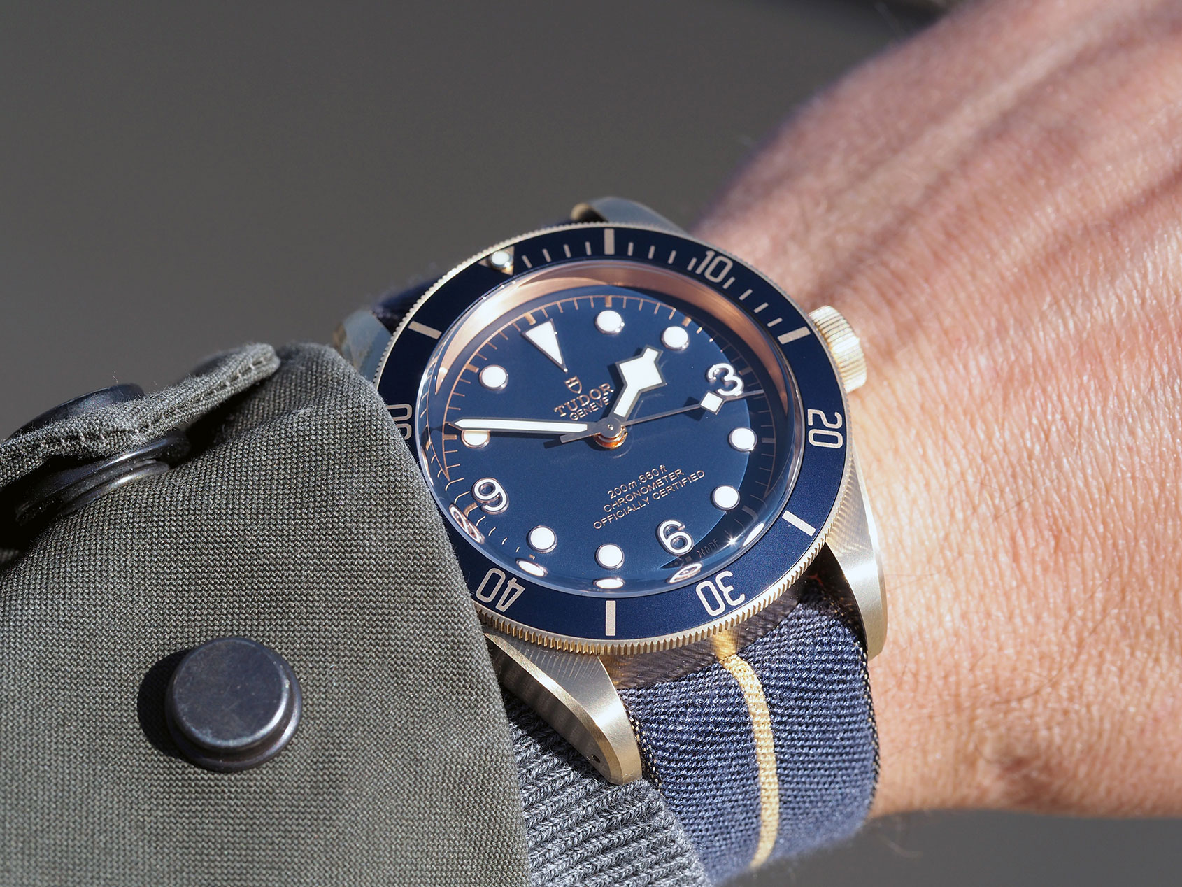Introducing This Brand New Tudor Black Bay Bronze Is A