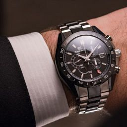 HANDS-ON: Dark and deadly – the Grand Seiko Black Ceramic Spring Drive Chronograph GMT (ref. SBGC221)