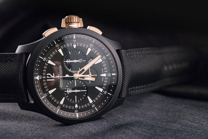 Jaeger-LeCoultre Master Compressor Chronograph Ceramic in Black or