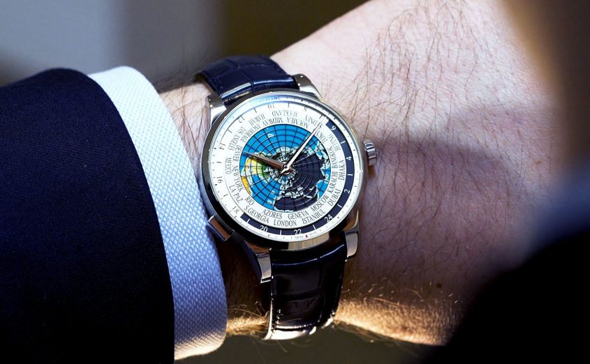 Montblanc's limited edition Orbis Terrarum for UNICEF, on the wrist for video review