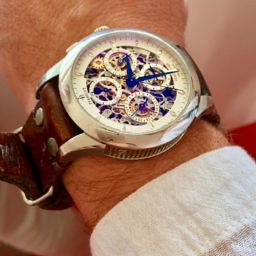 MY WATCH STORY: Will's Perrelet Dual Time Skeleton Chronograph