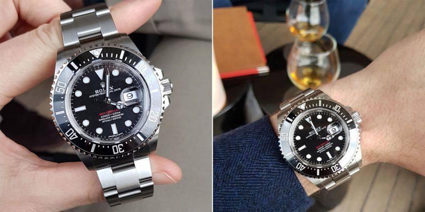 Mitch's new 2017 Rolex Sea-Dweller