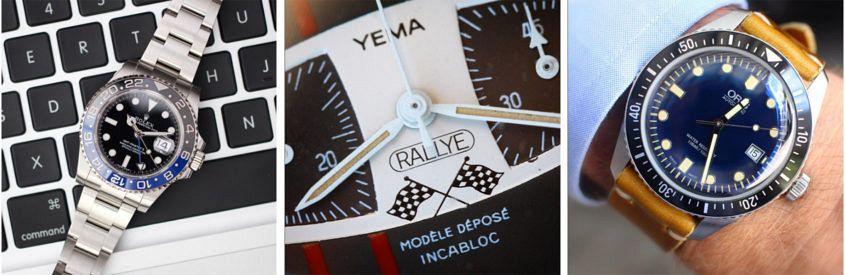 @bzabodyn214's Rolex GMT-Master BLNR, Yema Rallye and Orid Divers 65